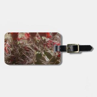 Cactus Flower Original Luggage Tag
