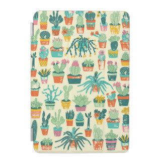 Cactus Flower Pattern iPad Mini Cover