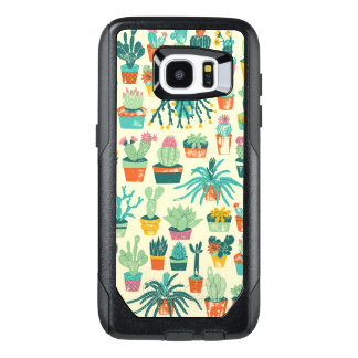 Cactus Flower Pattern Samsung Galaxy S7 Edge Case