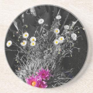Cactus Flower Series Coaster