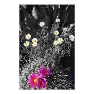 Cactus Flower Series Stationery