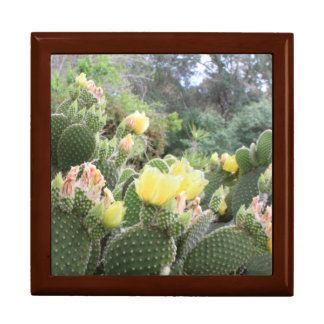 Cactus Flowers Jewelry Box