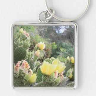 Cactus Flowers Keychain