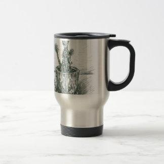 cactus, flowers, nature , plants , pot, magic travel mug