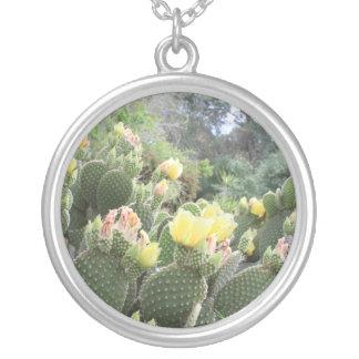 Cactus Flowers Necklace