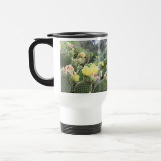 Cactus Flowers Travel Mug