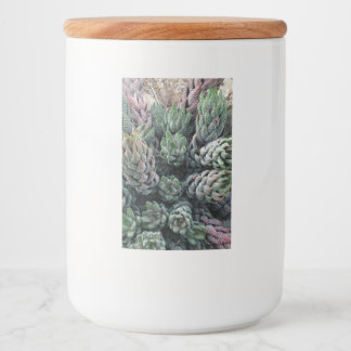 Cactus Food Container Label