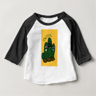 cactus friends cartoon baby T-Shirt