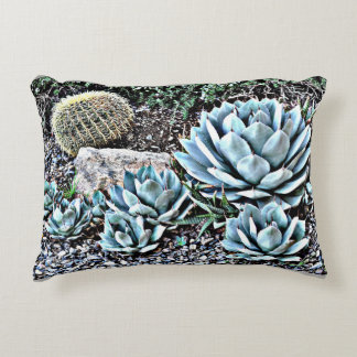 Cactus Garden in Orion Throw Pillow