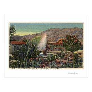 Cactus Garden, Palm Springs Hotel Postcard