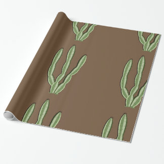 Cactus Glossy Wrapping Paper