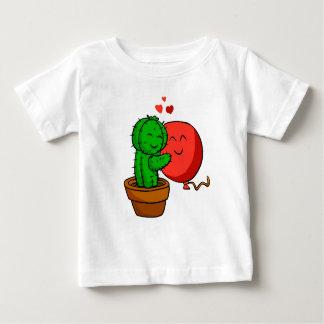 Cactus hugging balloon baby T-Shirt