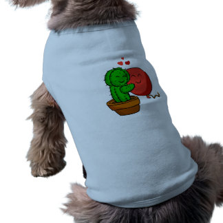 Cactus hugging balloon shirt