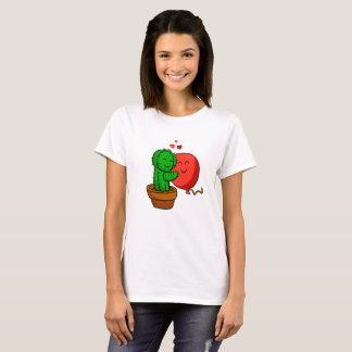 Cactus hugging balloon T-Shirt