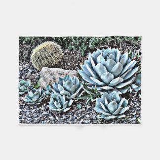 Cactus in Orion Fleece Blanket