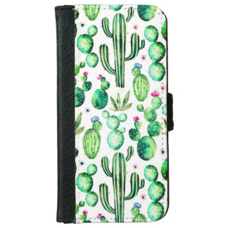 Cactus Iphone 6/6s Wallet Phone Case