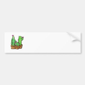 Cactus joy bumper sticker