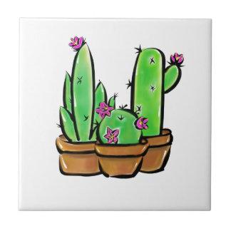 Cactus joy tile