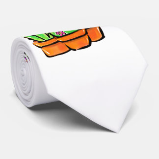Cactus joy -warm hue tie