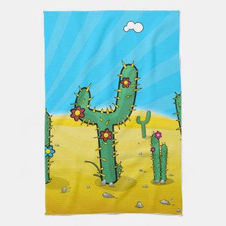 Cactus Kitchen Towel