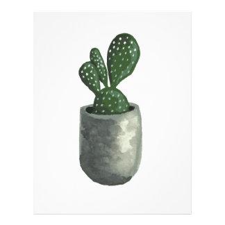 Cactus Letterhead