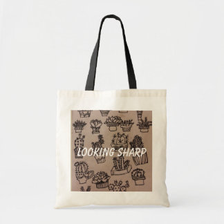 Cactus Looking Sharp Tote Bag