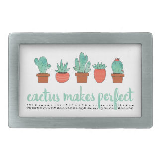 Cactus Makes Perfect Belt Buckles