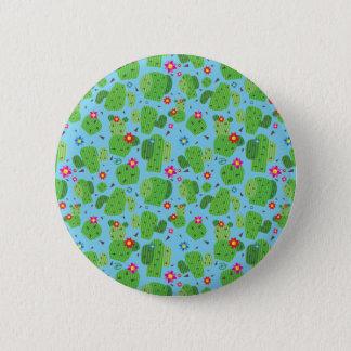 Cactus Me Outside (Blue) - Button
