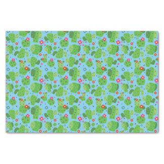 Cactus Me Outside (Blue) - Tissue Paper
