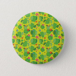 Cactus Me Outside (Green) - Button