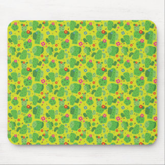 Cactus Me Outside (Green) - Flat Mousepad