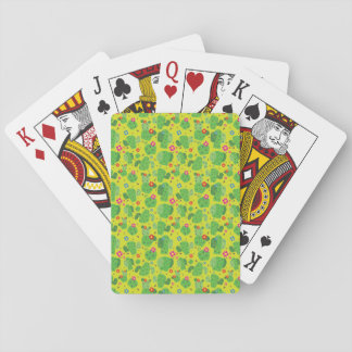 Cactus Me Outside (Green) - Playing Cards