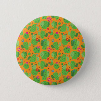 Cactus Me Outside (Orange) - Button