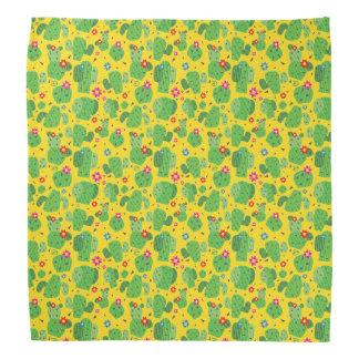 Cactus Me Outside (Yellow) - Bandana