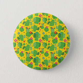 Cactus Me Outside (Yellow) - Button