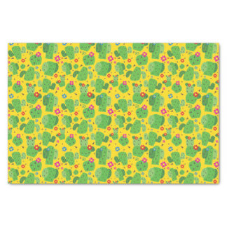 Cactus Me Outside (Yellow) - Tissue Paper