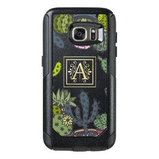 Cactus Monogram A OtterBox Samsung Galaxy S7 Case