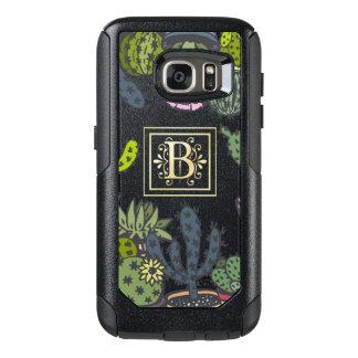 Cactus Monogram B OtterBox Samsung Galaxy S7 Case