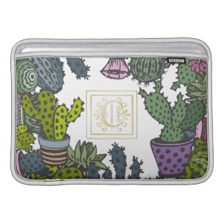 Cactus Monogram C Sleeve For MacBook Air