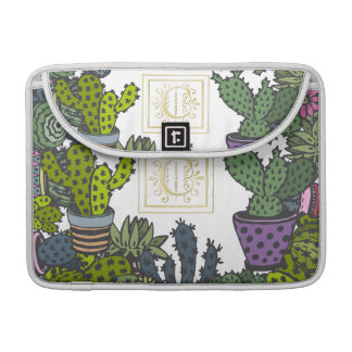 Cactus Monogram C Sleeve For MacBook Pro