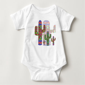 CACTUS : Natural Habitat is Desert of SAHARA Baby Bodysuit