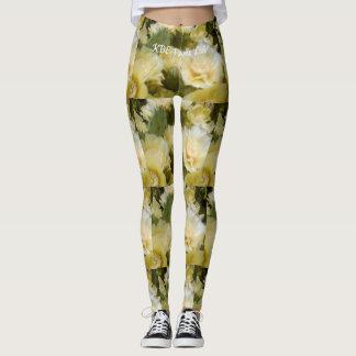 "Cactus ""Opuntia"" print leggings"