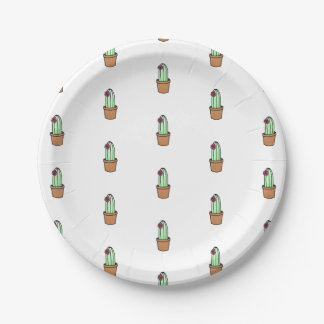 Cactus Paper Plates