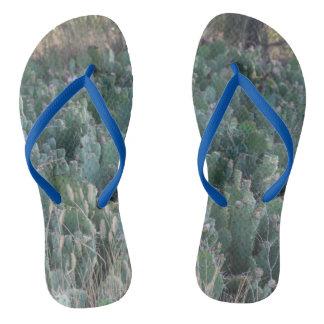 Cactus Patch Flip Flops