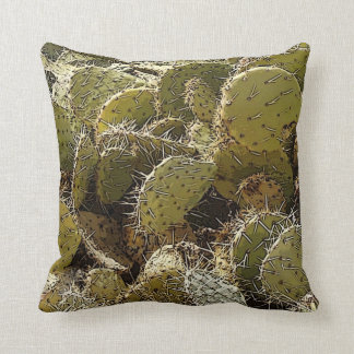 Cactus Patch Throw Pillow