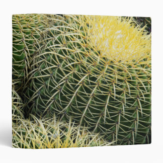 Cactus Pattern 3 Ring Binders