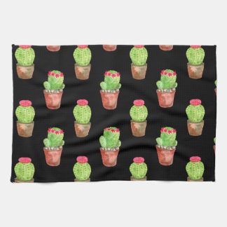Cactus Pattern Kitchen Towel