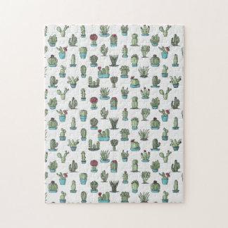 Cactus Pattern Puzzle