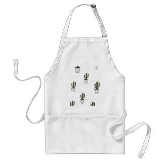 Cactus Pattern Standard Apron