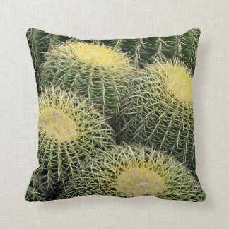 Cactus Pattern Throw Pillow